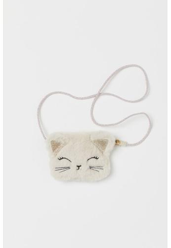 H&M multi and beige Fluffy Shoulder Bag 25FBEKC92A771EGS_1