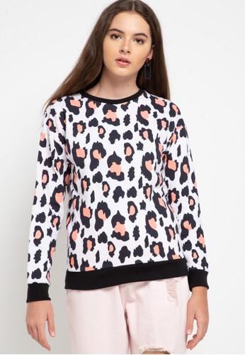 Gaff white Sweater Atasan Lengan Panjang Print Full 7762AAAE1F47EDGS_1