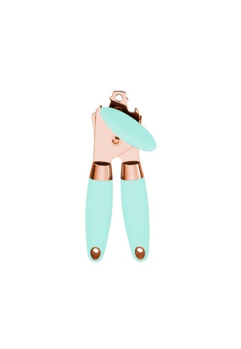 DILAS HOME Rose Gold Can Opener with Bottle Opener (Mint Green) A6EF1HLAF91E9FGS_1