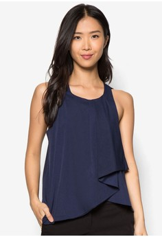 Collection Drape Front Top