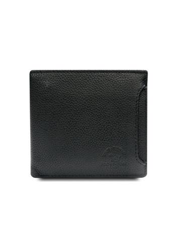 Santa Barbara Polo & Racquet black Santa Barbara Leather Classic Bifold Wallet SA678AC0GNO9SG_1