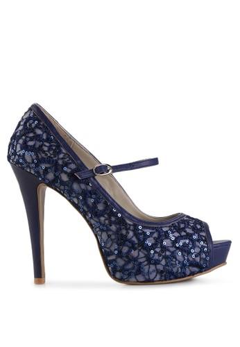 Elle Shoes navy EL 40083 EL820SH13CKWID_1