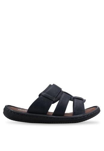 Bata blue Slip On Sandals 38DCFSHA65C227GS_1