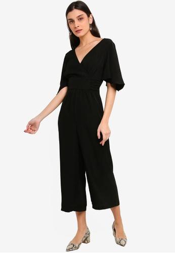 FORCAST black Sophia Crossover Jumpsuit C0A46AA514198DGS_1