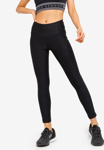 a19583b14b9cdd Under Armour black UA HG Armour Ankle Crop Jacquard Leggings  4DD1CAAE801BF5GS_1