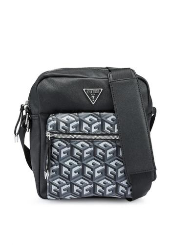 Guess black Neo Crossbody Bag 072ACACC164DC7GS_1