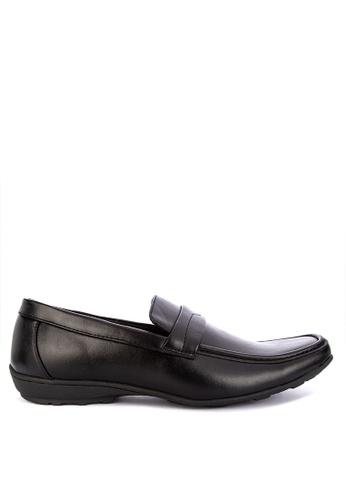 H2Ocean black Formal Slip on Shoes 3E26ASH01C0047GS_1