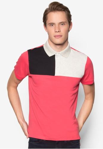 色塊POLO 衫、 服飾、 Polo衫Marc&Giselle色塊POLO衫最新折價