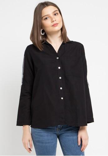 Lois Jeans black Katun Blouse D1745AA94CFB8AGS_1