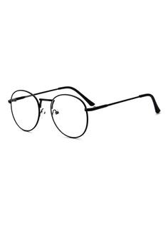 b2640aabd084 Elitrend Retro Metal Glasses with Matt Black Frame S  14.90. Sizes One Size