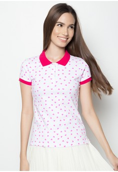 Newyork Army Women's Polo Shirt with Heart Design