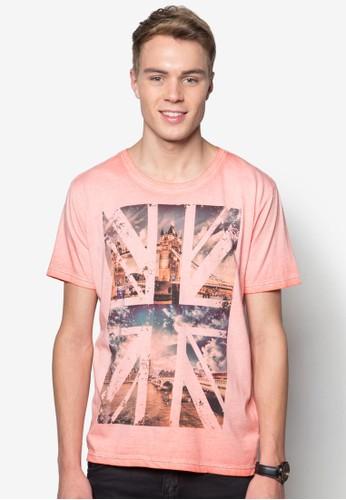 Charles esprit香港門市都市風設計TEE, 服飾, T恤