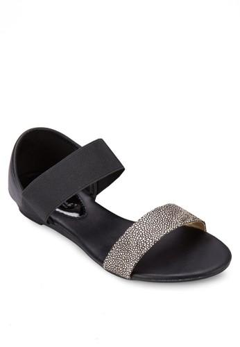 雙色包跟涼鞋, 女鞋,zalora 衣服尺寸 涼鞋