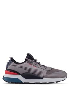 the best attitude 5b0d7 26aef PUMA grey RS-0 Tracks Men s Shoes 619E9SHFA98757GS 1