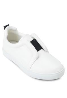 Elastic Slip On Sneakers