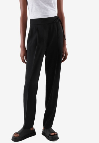 COS black Tapered Pants C51B0AAAF08D66GS_1