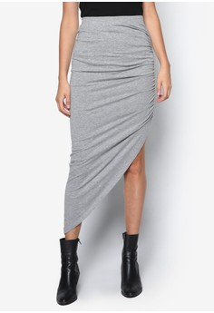 Ola High Low Ankle Skirt