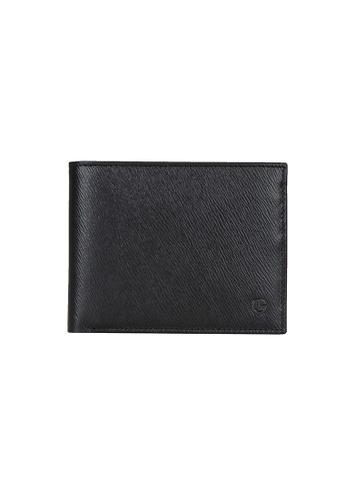 Goldlion black and blue Goldlion Men Leather Wallet (13 Cards Slot, Window Compartment, Center Flap) - Black AD4DCACCC03713GS_1