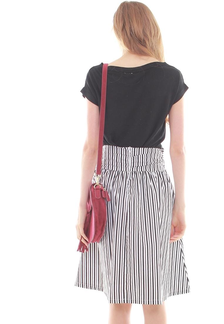 Stripes Skirt JOVET Skirt JOVET Stripes Black Black qP4yHyS