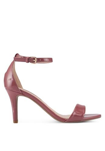 Dorothy Perkins pink Rose Pu Stella Mid Heels 5CF4BSHFF9B48AGS_1