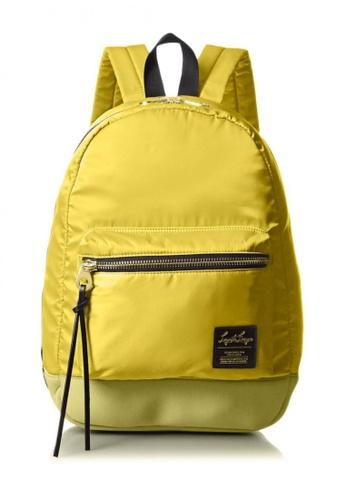 Anello yellow Nylon Wide Open Rucksack LHB1021 – Lemon Yellow AN821AC30CEBHK_1