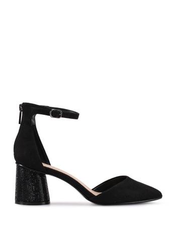 ALDO black Tery D'orsay Pump Block Heels CB893SHABB61E4GS_1