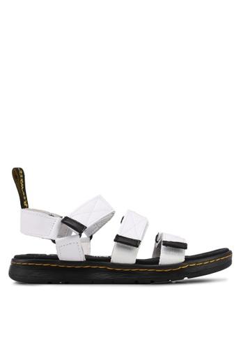 Dr. Martens white Ath Leisure Maldon Lth Sandals DR086SH0SX6QMY_1