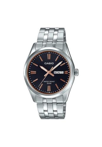 Casio silver CASIO GENERAL MTP-1335D-1A2VDF UNISEX'S WATCH BBE2FAC60789FEGS_1