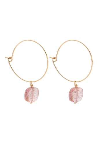 Dear Addison gold Fairy Dust Earrings 0FF58ACA7C04D4GS_1