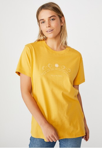 Cotton On yellow Classic Arts T Shirt 690A2AA7546BD3GS_1