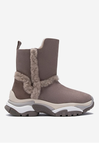 Ash 灰色 Ash Alpes 靴 B4551SH95F505AGS_1