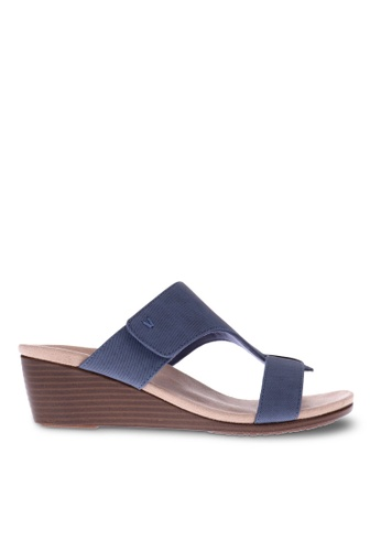 Vionic blue Regina Wedge Sandal 1D372SH8154900GS_1