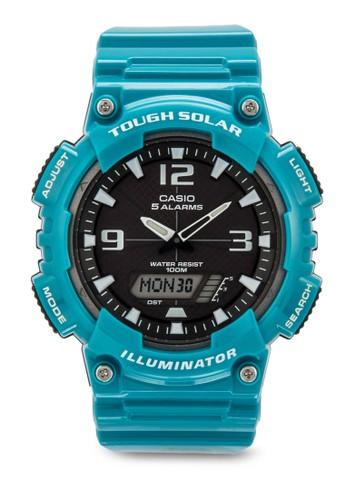 esprit 衣服AQ-S810WC-3AVDF 數字顯示樹脂手錶, 錶類, 飾品配件