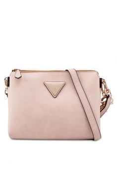 Psst... we have already received your request. Guess. Jade Crossbody Top Zip  Purse