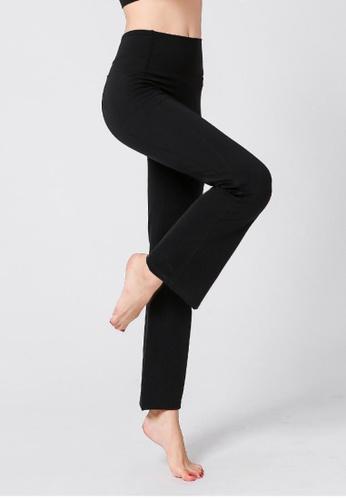 B-Code black ZYG3087-Lady Quick Drying Running Fitness Yoga Sports Leggings -Black AE812AAB08F04AGS_1
