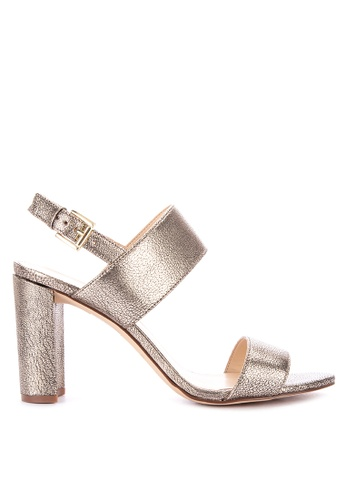 b5fec858359f Shop Nine West Narolyn Heeled Sandals Online on ZALORA Philippines