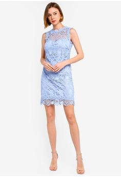 2df18c9ba54 11% OFF Paper Dolls Blue Crochet Dress S  130.90 NOW S  115.90 Sizes 8 10  12 14 16