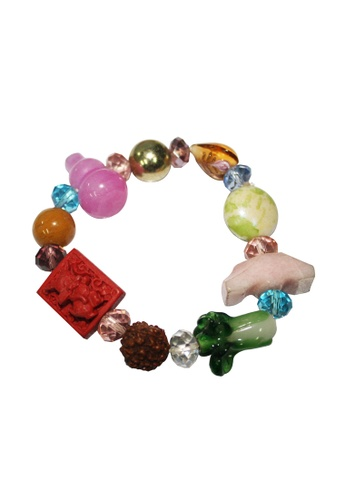 Manmico multi Feng Shui Lucky Charms All in One Year of the Rabbit Bracelet MA606AC16SOHPH_1