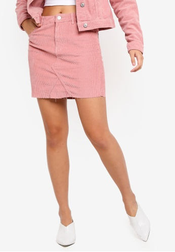 c657476ebce2 Shop ONLY Touch Up Corduroy Short Skirt Online on ZALORA Philippines