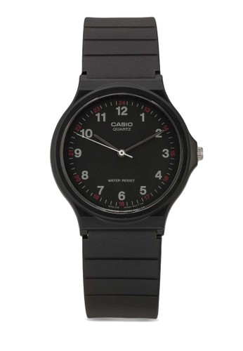 Casio black Casio Jam Tangan - Black - Resin - MQ-24-1BLDF 99AB0AC775EECEGS_1
