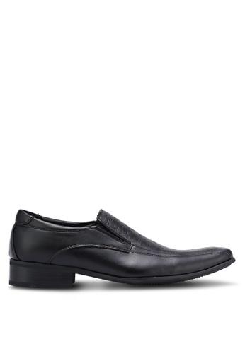 Knight black Business Shoes KN875SH0RF8XMY_1