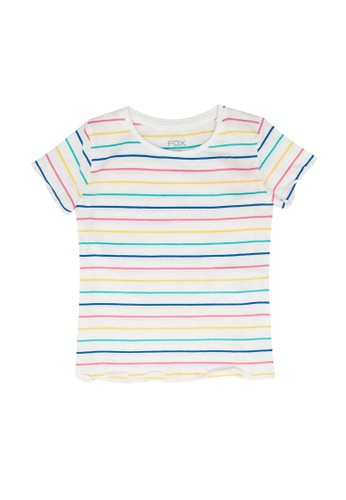 FOX Kids & Baby white Short Sleeve Tee 09AD9KA4064A92GS_1