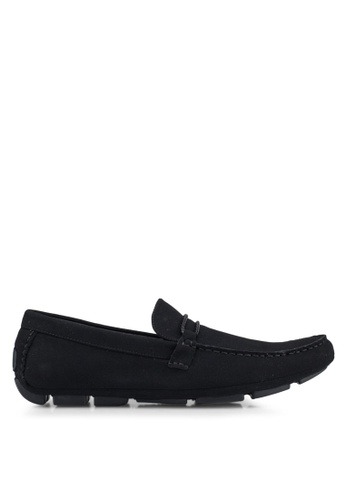 Call It Spring black Rainy Loafers E725ESH639D66EGS_1