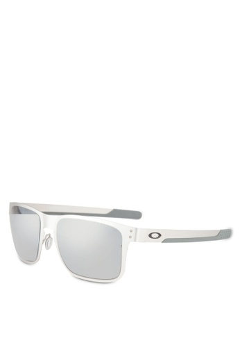 Oakley silver Performance Lifestyle OO4123 Sunglasses OA636GL0RNJDMY_1