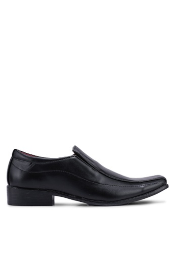 Rocklander black Formal Slip On Shoes 5EDE8SH9EA6012GS_1