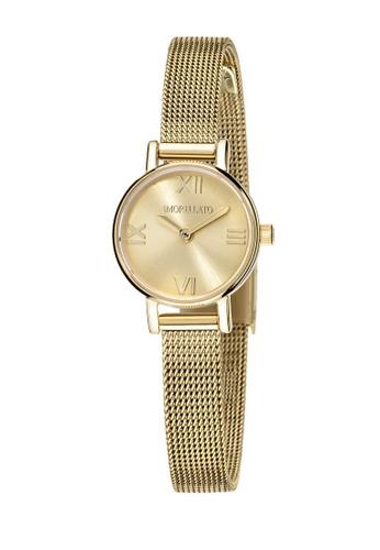 Morellato gold Sensazioni Quartz Watch R0153142517 Rose Gold Metal Strap 424C6AC78EB338GS_1