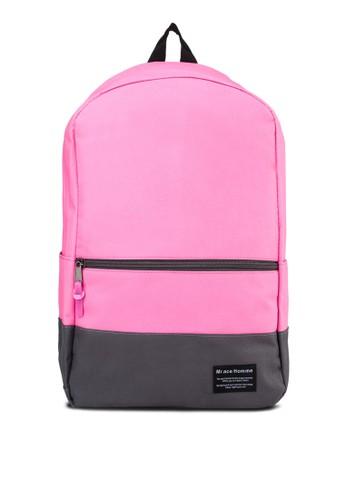撞色旅遊後背包、 包、 飾品配件Bagstationz撞色旅遊後背包最新折價