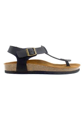 SoleSimple black Oxford - Black Leather Sandals & Flip Flops 76FCBSHC8CA62FGS_1