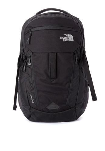 The North Face black Surge Backpack TH803AC0J2UPPH_1