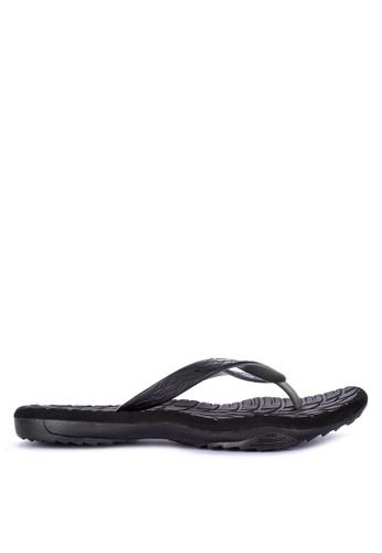 Krooberg black Contour 8 Flip Flops 9A92ASH2BF189FGS_1